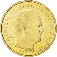 [#83874] Monaco, Rainier III, 20 Centimes 1962 Essai, KM E46 - 1960-2001 Nouveaux Francs