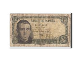 [#109482] Espagne, 5 Pesetas Type 1951 - [ 3] 1936-1975 : Régence De Franco