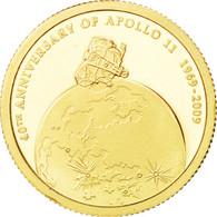 [#89423] Iles Cook, Elisabeth II, 10 Dollars Or Apollo 2009, KM 1332 - Cook