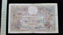 Billet De 100 , Cent Francs Luc Olivier Merson, 1938, L62617 - 100 F 1908-1939 ''Luc Olivier Merson''