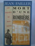 MARY LESTER N° 11 MORT D´UNE ROMBIERE  Policier Breton - Non Classés