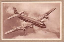 AVIATION - AVION - COLLECTION AIR FRANCE - DOUGLAS D C 4, DC-4 , DC4 - 1939-1945: 2nd War