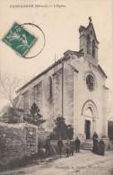 CPA - Campagnan - L'église - France