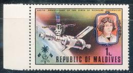Space Astronomy Medecine Maldives Copernic Skylab - Maldiven (1965-...)