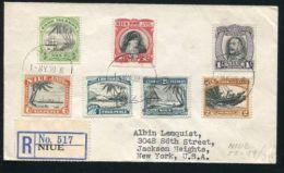COOK ISLANDS NIUE PERKINS BACON 1939 FULL SET SAMOA - Cook Islands