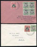 COOK ISLANDS NIUE PERKINS BACON 1932/35 COVERS - Cook Islands