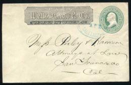 UNITED STATES WELLS FARGO SALT LAKE CITY - Postal History