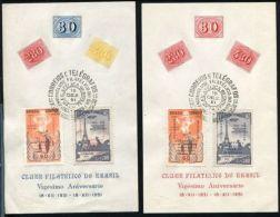 BRAZIL 1951 PHILATELIC CLUB OLHOS DE CABRA - Brazil