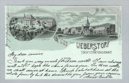 AK FR Ueberstorf 1903-12-09 Litho H.Guggenheim - FR Fribourg