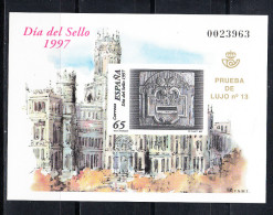 ESPAÑA 1997. .PRUEBAS OFICIALES.EDIFIL Nº 62 DIA DEL SELLO .SES156GRANDE - 1931-Aujourd'hui: II. République - ....Juan Carlos I