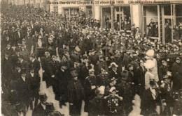 - BRUXELLES - Funérailles Du Roi Léopold II, 22 Décembre 1909. Les Délégations étrangères. - - Fêtes, événements