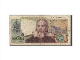[#306571] Italie, 2000 Lire Type Galileo - [ 2] 1946-… : République