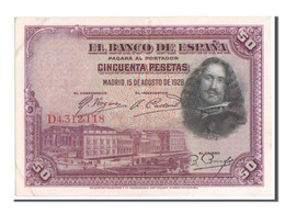 [#350612] Espagne, 50 Pesetas Type 1928, Pick 75b - 50 Pesetas