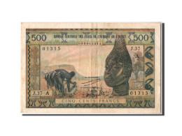 [#304445] Côte D'Ivoire, 500 Francs Type 1959-64 - Côte D'Ivoire