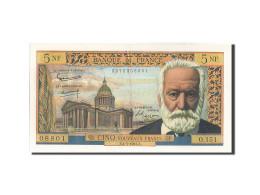 [#203956] 5 Nouveaux Francs Type Victor Hugo, 01 Juillet 1965, Fayette 56.19 - 5 NF 1959-1965 ''Victor Hugo''