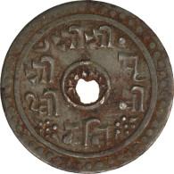 [#43758] Népal, Prithvi Bir Bikram Shah, 12 Paisa 1902, KM X Tn1 - Népal