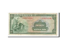 [#156677] Allemagne, 20 Deutsche Mark Type 1948 - [ 7] 1949-… : RFA - Rép. Féd. D'Allemagne