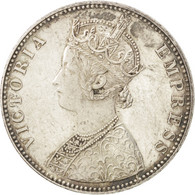 Indes Britanniques, Victoria, 1 Rupee 1893 B, KM 492 - India