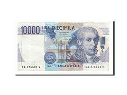 Italie, 10 000 Lire Type Volta - [ 2] 1946-… : République