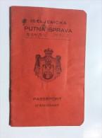 PASSEPORT D´EMIGRANT  PASSPORT REISEPASS  1926. KINDOM OF  SHS KOČEVJE  KOCEVJE    VISA TO: CANADA , AUSTRIAN COSUL - Historical Documents