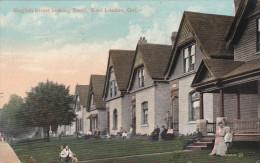 EAST LONDON , Ontario , Canada , PU-1908 ; English Street Looking South - London
