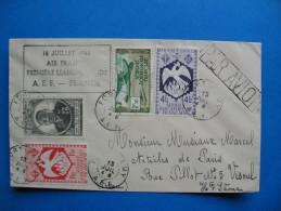14 Juillet 1946 - AIR FRANCE 1èere Liaison AEF_FRANCE - A.E.F. (1936-1958)