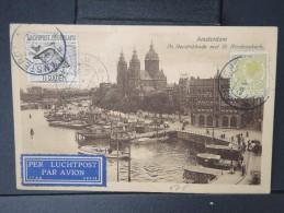 PAYS-BAS-  Cp Pour La Belgique En 1930 Par Avion   Affr Plaisant  A VOIR   P4193 - Periodo 1891 – 1948 (Wilhelmina)