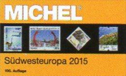 MICHEL Europe Band 2 Südwest-Europa Katalog 2015 Neu 66€ Südwest-EU: Andorra E F Gibraltar P MONACO Catalogue Of Germany - Zubehör