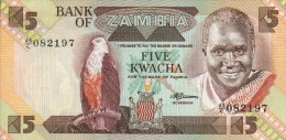 Zambia  5 Kwacha (1980-88) Pick 25d UNC - Zambia