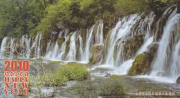 China - UNESCO WHS - Jiuzhaigou Valley Scenic & Historic Interest Area - Shuzheng Waterfall, Prepaid Card