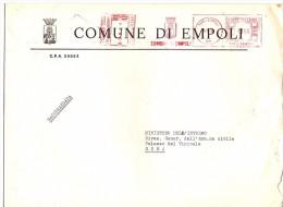 COMUNE DI EMPOLI - 50053 - PROV FIRENZE - R/AMR - ANNO 1980 - FTO 18X24 - TEMATICA TOPIC STORIA COMUNI D´ITALIA - Affrancature Meccaniche Rosse (EMA)