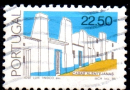 PORTUGAL 1985 Architecture - 22e50 Alentejo House  FU - 1910-... Republiek
