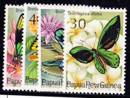 Papouasie Nouvelle Guinée N°287/290 - 4 Valeurs - Neufs ** - Superbe - Papua New Guinea