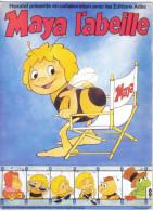Carte Postale Dessin Animé  Les Aventures De Maya L'Abeille Trés Beau Plan - Ansichtskarten