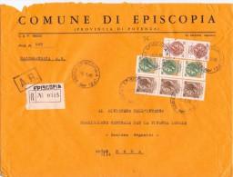 COMUNE DI EPISCOPIA - 85023 - PROV POTENZA - R - ANNO 1980 - FTO 18X24 - TEMATICA TOPIC STORIA COMUNI D´ITALIA - Affrancature Meccaniche Rosse (EMA)