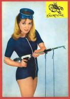 CARTOLINA NV ITALIA - Zodiaco - Scorpione - Ragazza In Costume Succinto - Sub - Pin Up - 10 X 15 - Pin-Ups