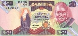 Zambia  50 Kwacha (1986-88) Pick 28 UNC - Zambia