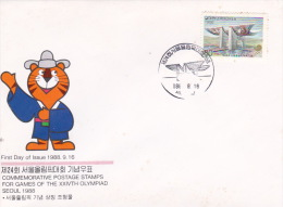 Korea 1988 XXIV Olympic Games FDC - Korea, South