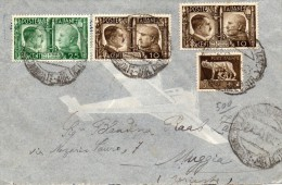 1941  LETTERA CON ANNULLO TRIESTE - Poststempel
