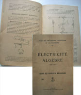 MANUEL COURS DES APPRENTIS MECANICIENS - ELECTRICITE ALGEBRE - Documentos