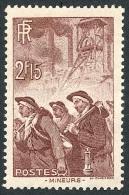 FRANCE 1938 - Yv. 390 *   Cote= 5,00 EUR - Mineurs ..Réf.FRA26948 - France