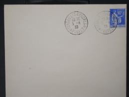 FRANCE-  Enveloppe Avec Obl  Versailles  Congrés  De 1939    P4203 - Marcofilia (sobres)