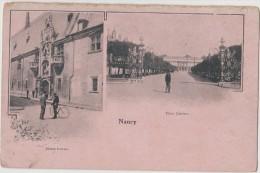 CPA  - Nancy - Multivues - Place Carrière - Musée Lorrain - Nancy