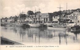 ¤¤  -     16    -   SAINT-VALERY-sur-SOMME    -  Le Port Et Le Quai Perrée   -  Voiliers , Bateaux    -  ¤¤ - Saint Valery Sur Somme