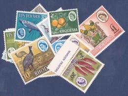 Rhodésie Du Sud N°130/143 -  Neufs * - TB - Timbres