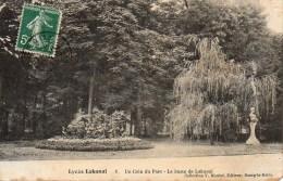 92 SCEAUX  Lycée Lakanal  Un Coin Du Parc - Le Buste De Lakanal - Sceaux