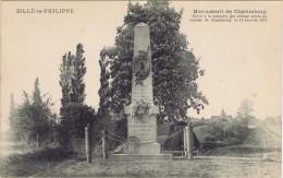 72 - Sillé-le-Philippe (Sarthe) - Monument De Chanteloup - Other Municipalities