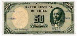 CHILE 5 CENTESIMOS ND(1960) Pick 126b Unc - Chile