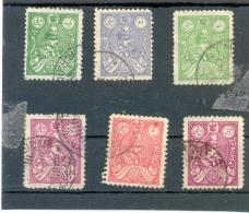 1926 IRAN Y & T N° 510 - 511 -  512 - 513 -  514  ( O ) Riza Pahlavi - Iran