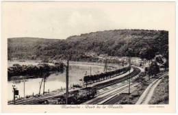 Marbache - Bord De La Moselle ( Chemin De Fer, Train ) - France